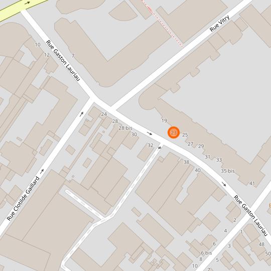 Le local de l'épicerie coopérative au 23 rue Gaston Lauriau, à Montreuil.