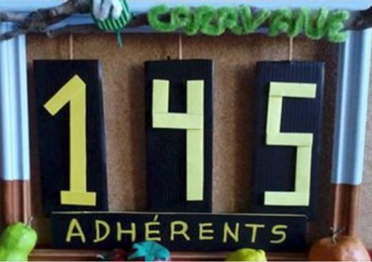 145 adhérents au compteur :)