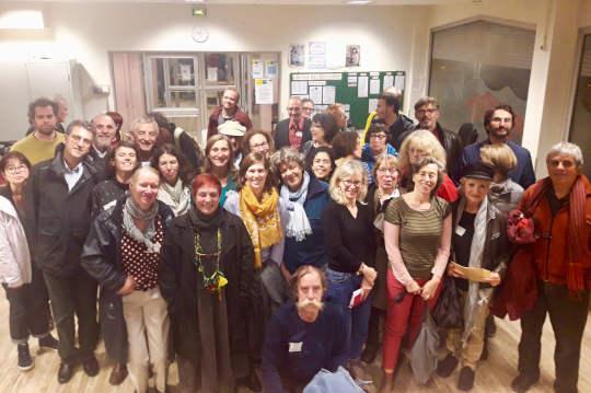 Photo des membres présent au Forum