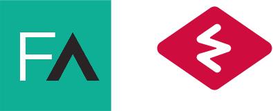 Les logos de France Active et d'Est Ensemble