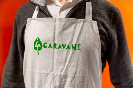 Un tablier de La Caravane